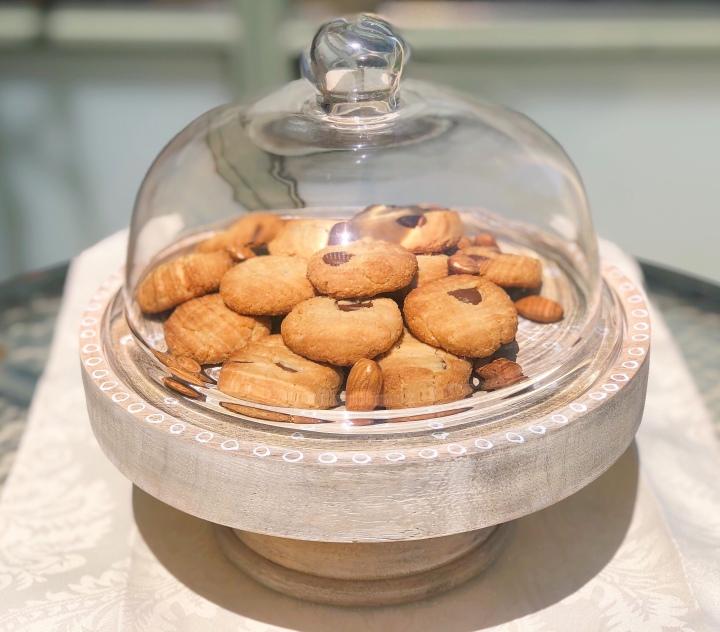 עוגיות שקדים ומייפל ללאגלוטן